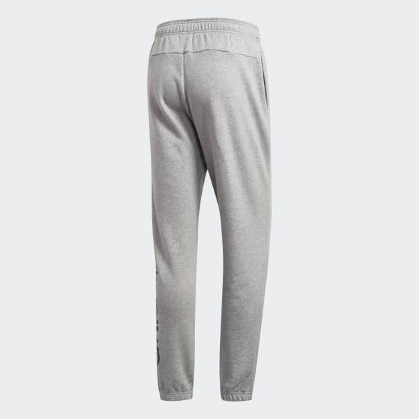 adidas Essentials Linear avsmalnet bukse Grå | adidas Norway