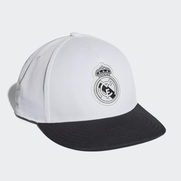 Gorra Real Madrid - Blanco adidas  f83e9076873