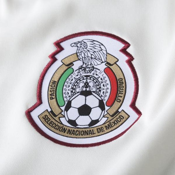78420b81d0df8 adidas Jersey de Entrenamiento Selección de México 2018 - Blanco ...