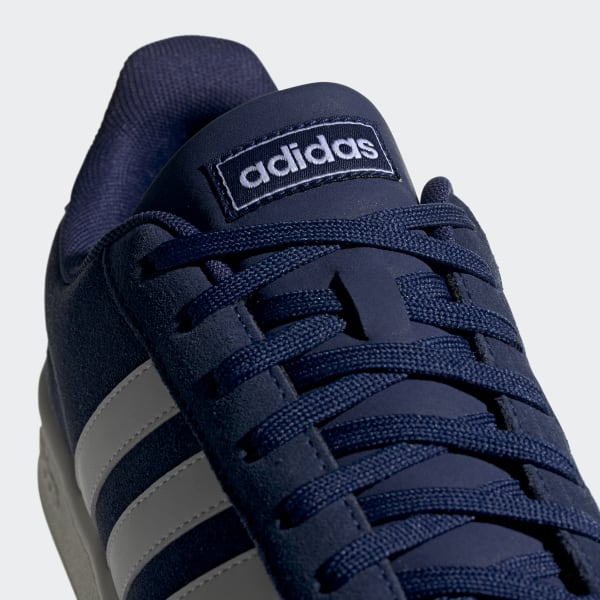 adidas court azul hombre