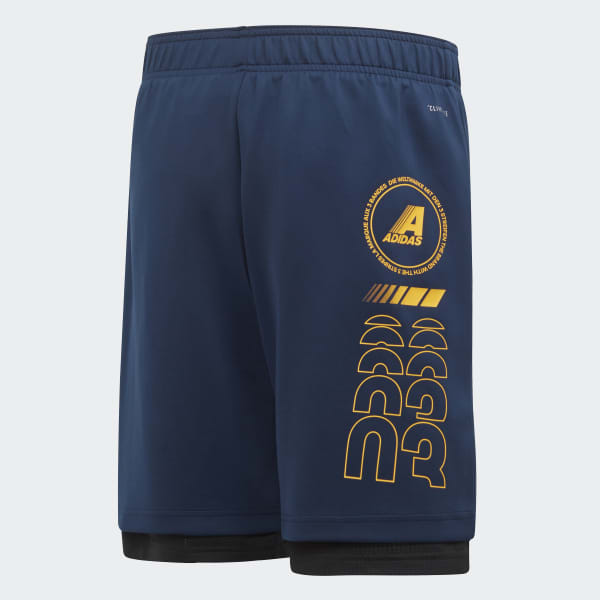 2-in-1 Mesh Shorts
