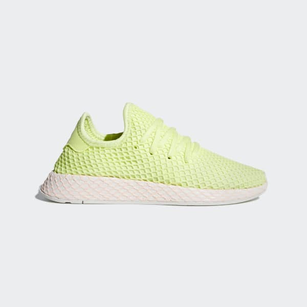 adidas Deerupt Shoes - Yellow | adidas US | Tuggl