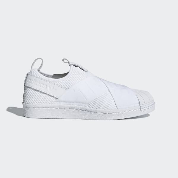 adidas Superstar Slip-on Shoes - White | adidas US | Tuggl