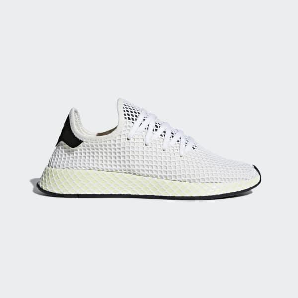 adidas Deerupt Runner Shoes - White | adidas US | Tuggl