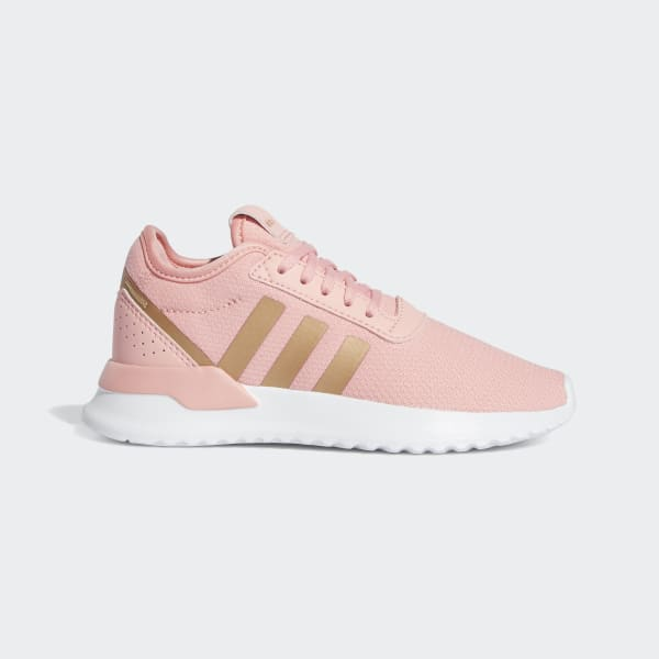 rose gold tennis shoes adidas