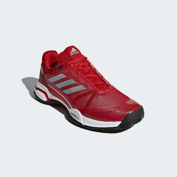 adidas Barricade Club Clay Shoes Red | adidas Ireland
