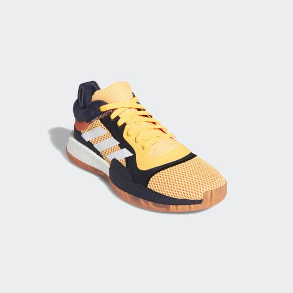 adidas marquee boost low yellow