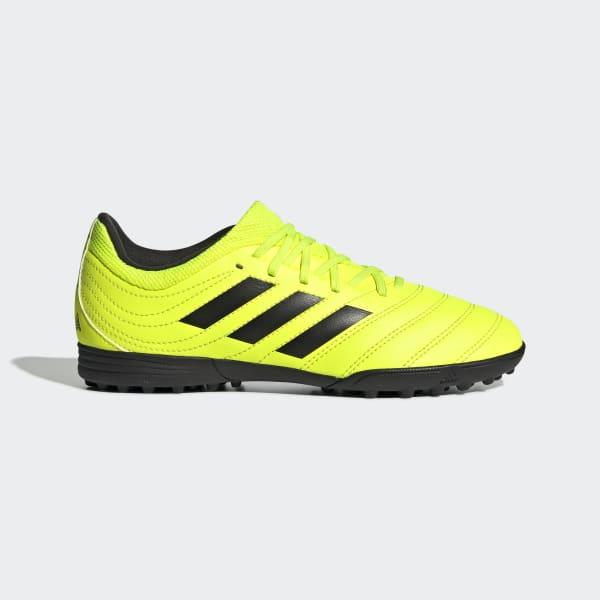 adidas Copa 19.3 Turf Shoes - Yellow