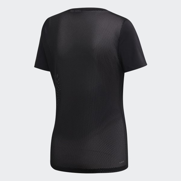 ADIDAS Damen Fitness Shirt Design 2 Move Logo schwarz | XS