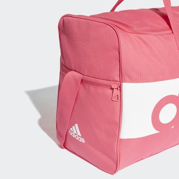 adidas Linear Performance Duffel Bag Medium - Pink  0499750f516ed