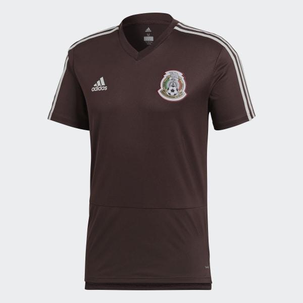adidas Jersey de Entrenamiento Selección de México 2018 - Rojo ... 1d1c1d72fdcde