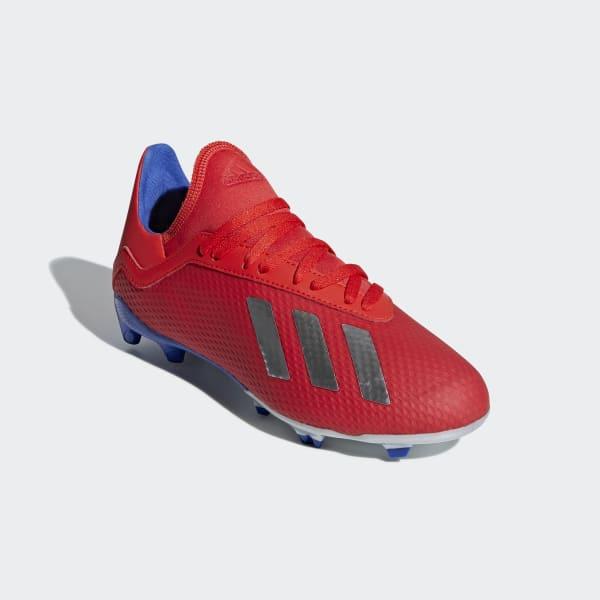 296eb577 adidas Футбольные бутсы X 18.3 FG - красный | adidas Россия