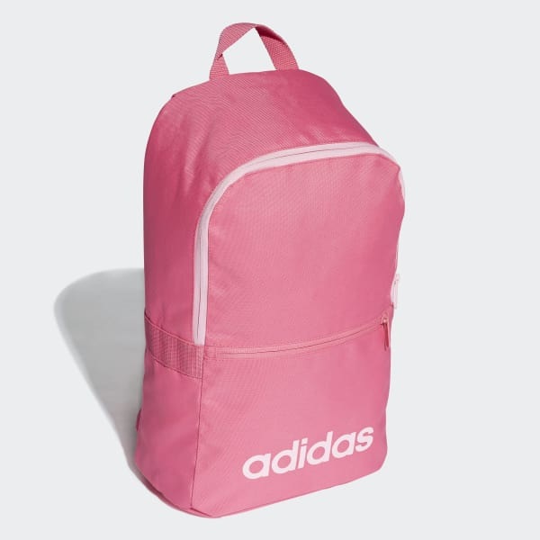 c9eeae9bf7 adidas Linear Classic Daily Backpack - Pink | adidas Belgium