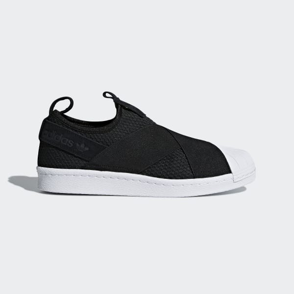 adidas Superstar Slip-on Shoes - Black | adidas US | Tuggl