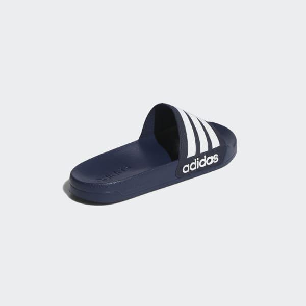 Chinelo Cloudfoam Adilette - Azul adidas  9593baf485772