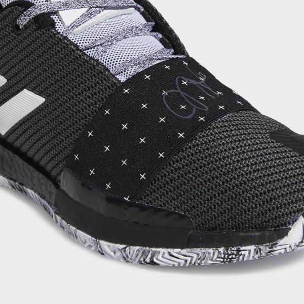 James Harden Shoes Vol 2: Adidas Harden Vol. 3 Shoes - Black