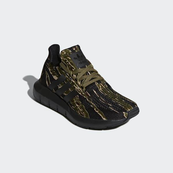 adidas Swift Run Schuhe oliv
