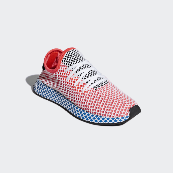 Latest Adidas Originals Deerupt Runner Shoes Solar Red