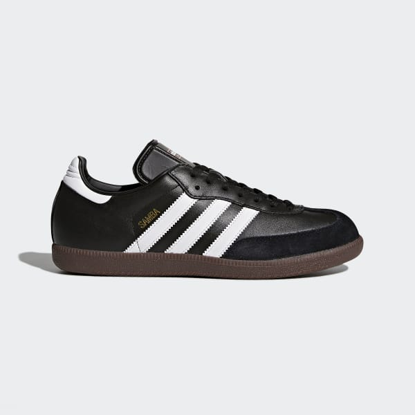50fae4d9782d adidas Samba Leather Shoes - Black