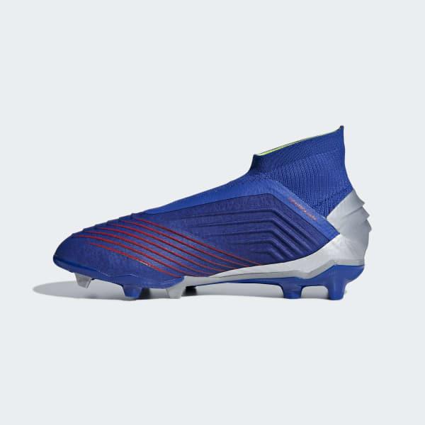 714249449b0 adidas Predator 19+ Firm Ground Voetbalschoenen - blauw | adidas Officiële  Shop