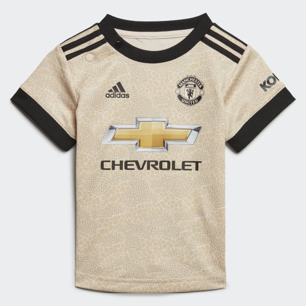 Manchester United Away Baby Kit