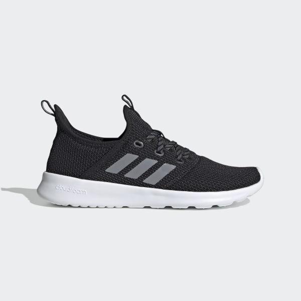 adidas all black cloudfoam