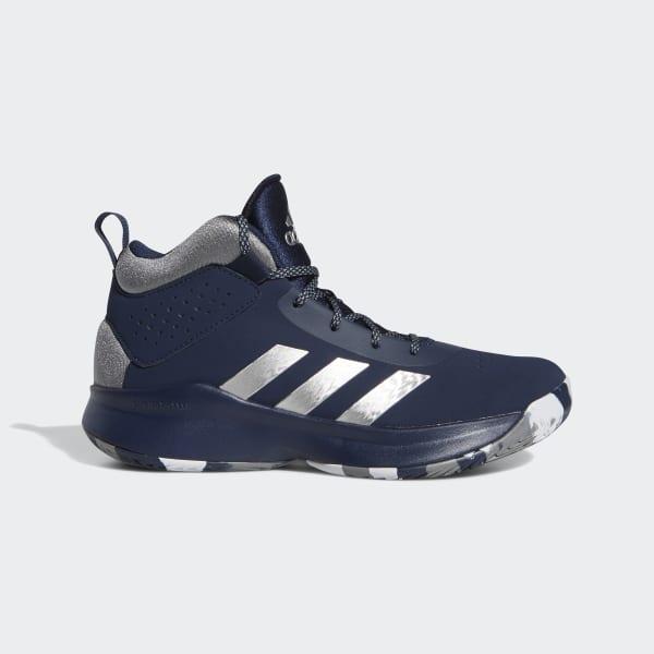 adidas Cross Em Up 5 Wide Shoes - Grey