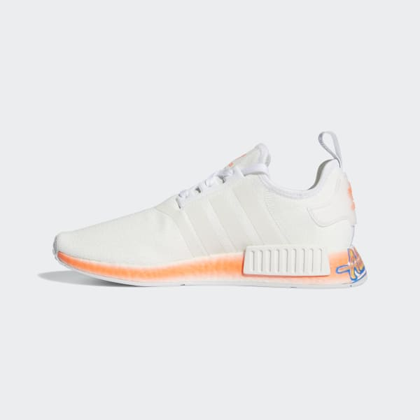 Nmd R1 Cloud White And Orange Shoes Adidas Us