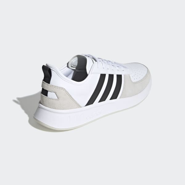 Cittadinanza mazzo Inaccessibile  adidas Court 80s Shoes - White | adidas UK