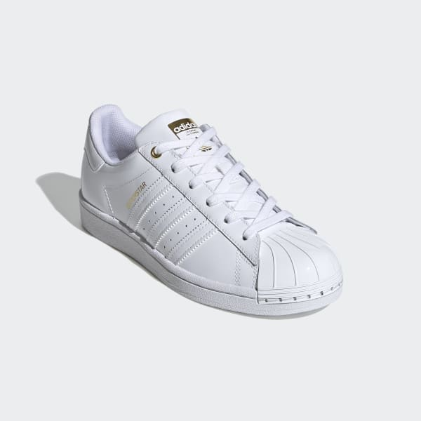 bobina Buena voluntad Persuasivo  adidas Superstar Metal Toe Shoes - White | adidas US