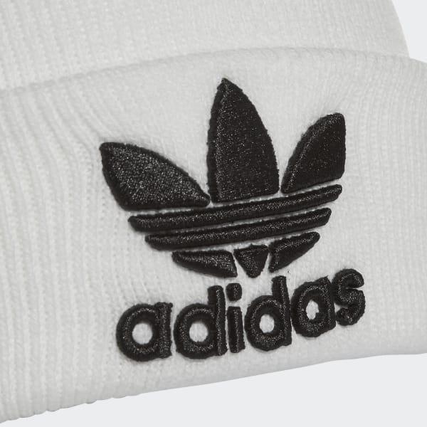adidas trefoil mütze weiß