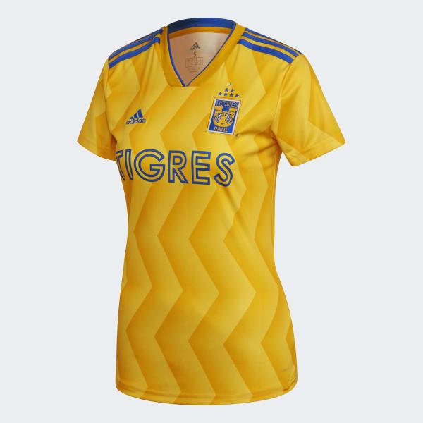 adidas Jersey de Local Tigres UANL - Amarillo  a883b3dc41532