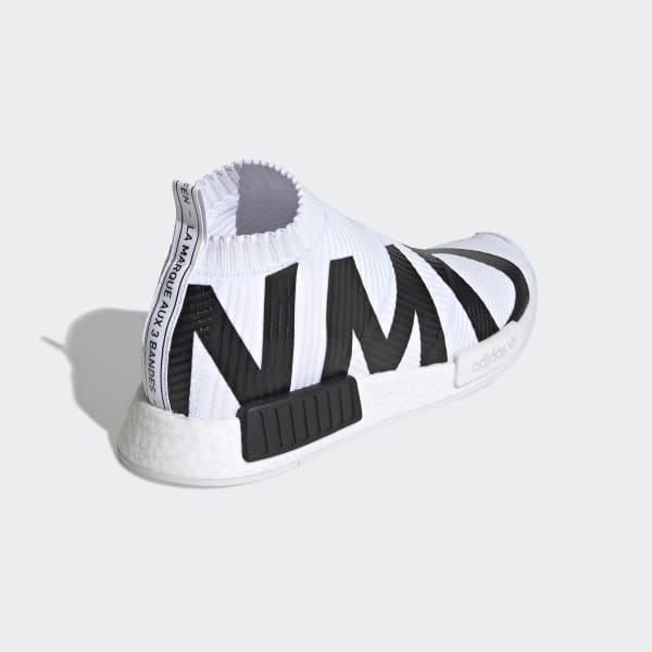 Men's NMD CS1 Primeknit Black and White