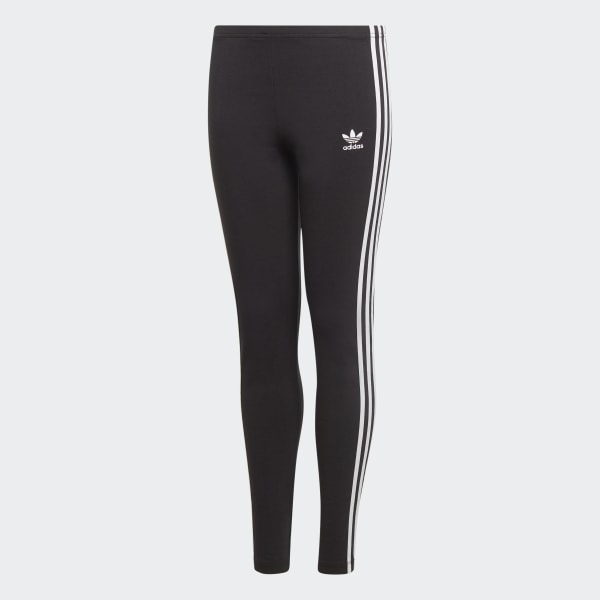Contar bolsillo Pegajoso  adidas 3-Stripes Leggings - Black | adidas US