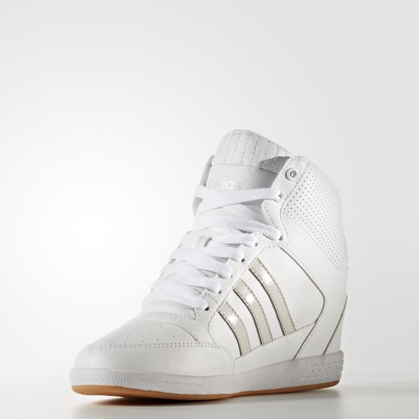 f293cd44ded30d adidas Super Wedge Shoes - White