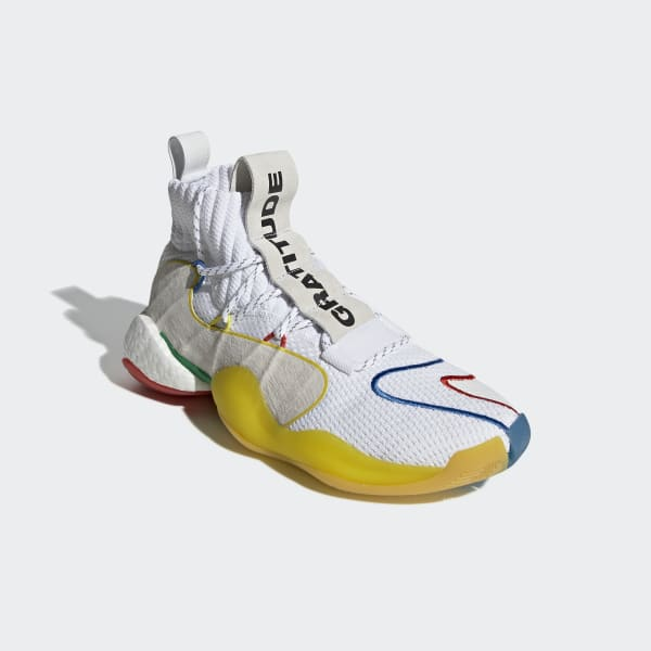 18aa690346c4e adidas Pharrell Williams Crazy BYW LVL X Shoes - White