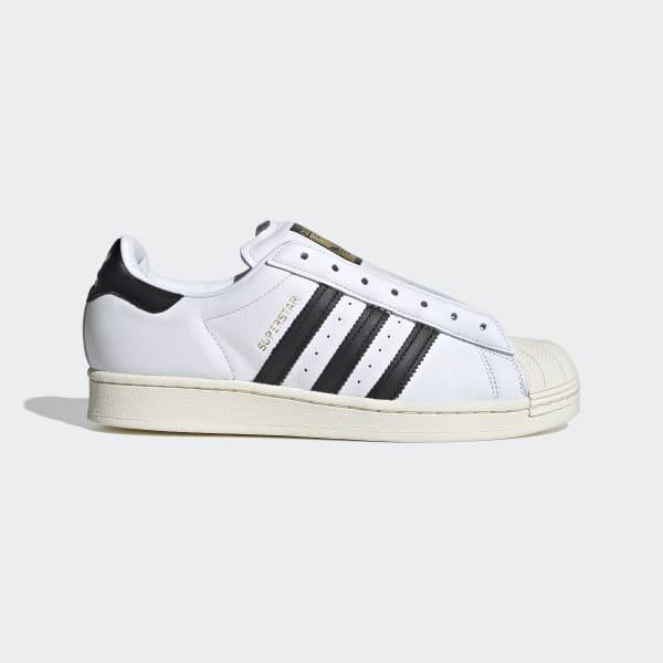 Zapatillas Adidas Superstar Laceless Blanco Hombre