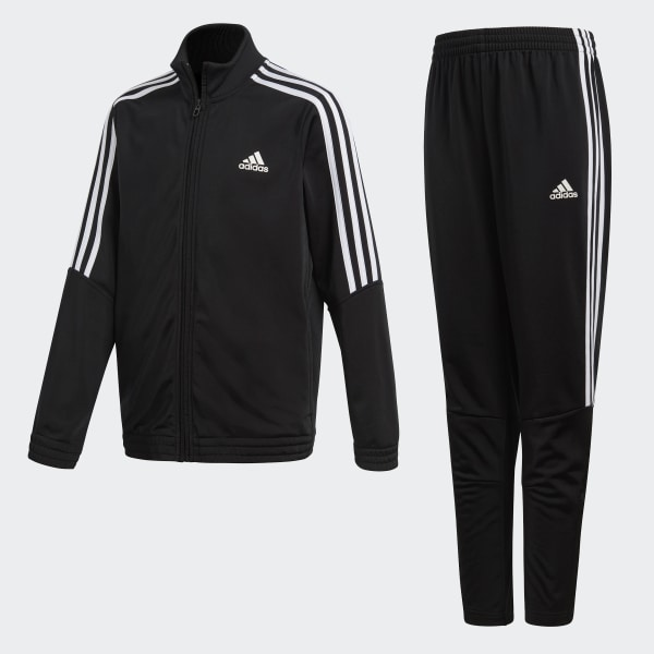 3a2bff978fe79 Tiro Track Suit Black   White BJ8460