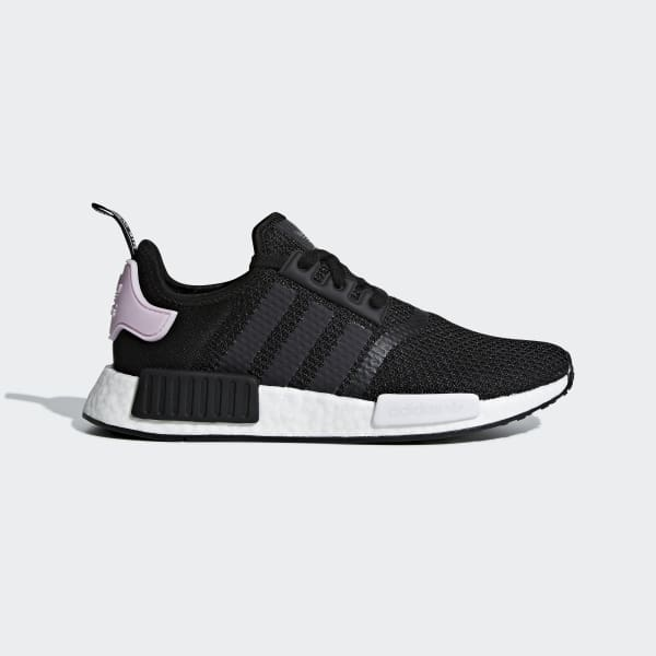 Women S Nmd R1 Black And Lavender Shoes Adidas Us