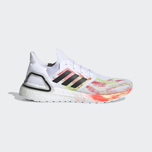 adidas ultra boost white and green