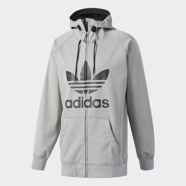 adidas Greeley Soft Shell Jacket - Grey  6c0f25fe12