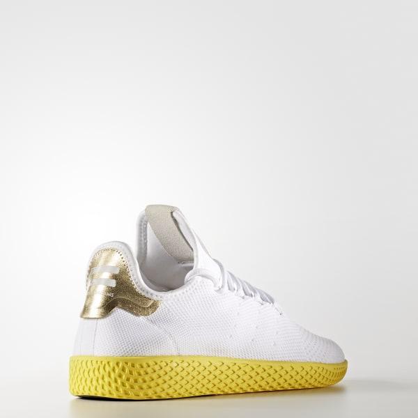36209e2e08592 adidas Pharrell Williams Tennis Hu Primeknit Shoes - White