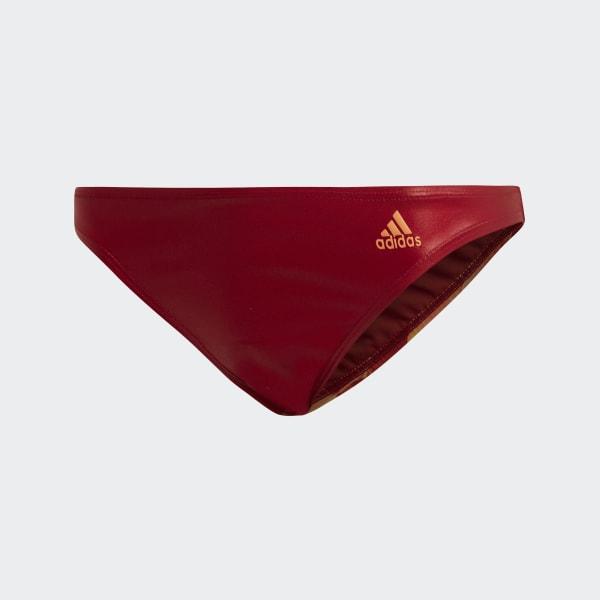 caf3ecb1d adidas Parte de Baixo de Biquíni Cheeky - Vermelho | adidas MLT