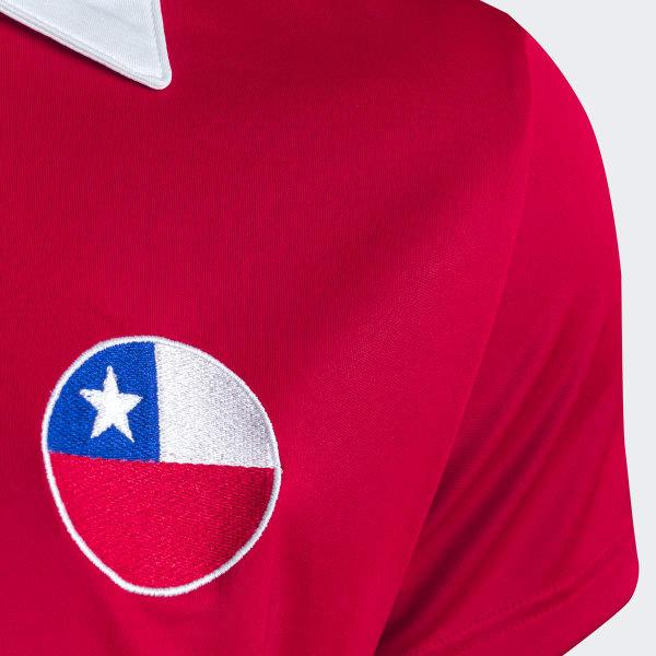 e03fe7337d8e8 Camiseta Fan Tee Chile - Rojo adidas
