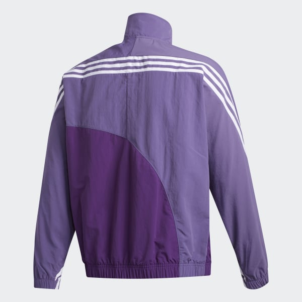 adidas Off Center Windbreaker Purple | adidas Deutschland