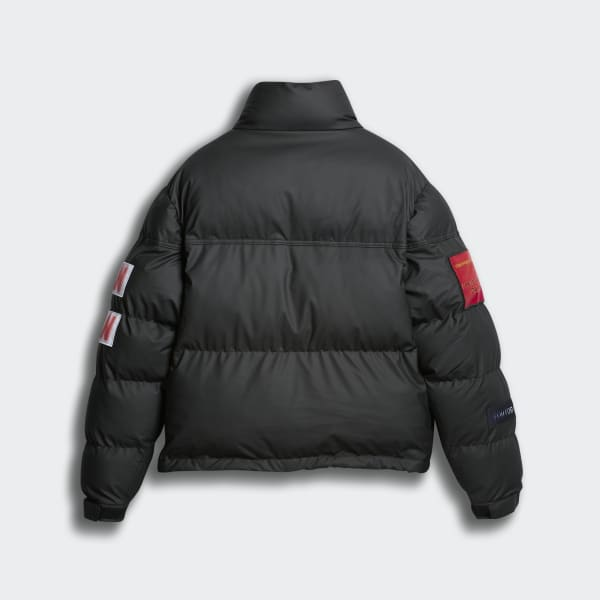 Black Flex2Club Puffer Jacket