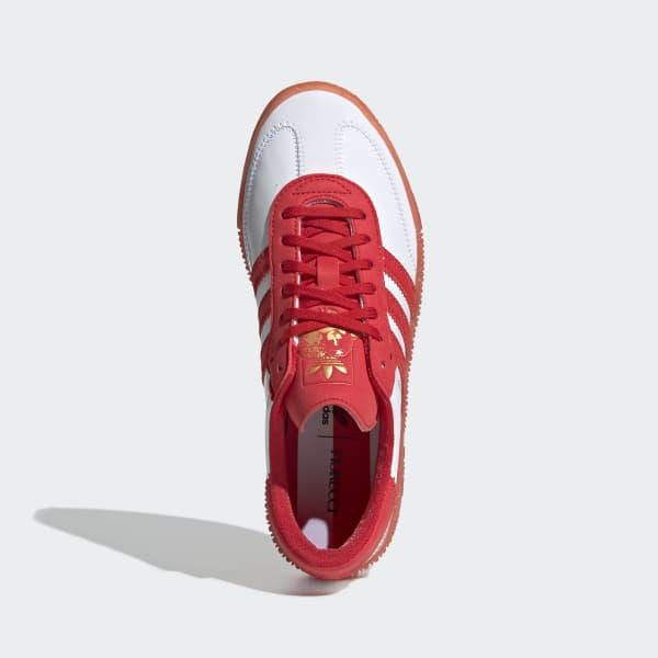 8b8b4387df03f1 adidas Fiorucci SAMBAROSE Schuh - rot