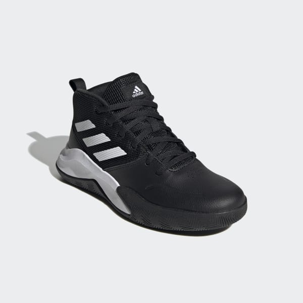 adidas Own the Game Wide Sko Svart | adidas Norway