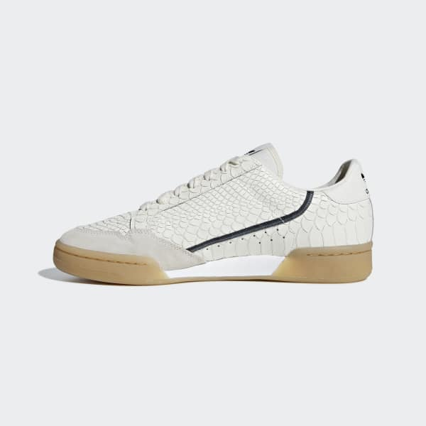 c4c37fcbfe3 adidas Sapatos Continental 80 - Branco