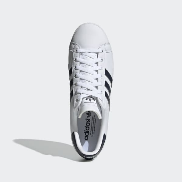 Sobretodo Disparo Constituir  adidas Coast Star Shoes - White | adidas UK